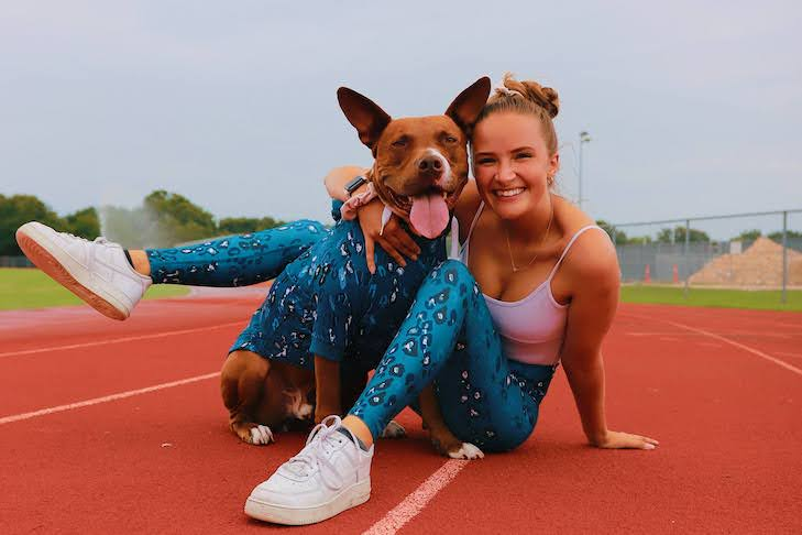 """Rescue Dog """"Baloo"""" Defies Stereotypes, Becomes Canine Athlete"""